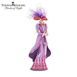 "Kinkade ""Tea At Three"" Victorian Fashion Figurine"