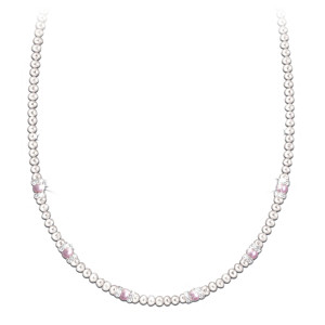 """My Daughter, My Joy"" Cultured Freshwater Pearl Necklace"