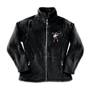 """Elvis: Dressed To Thrill"" Women's Fleece Jacket"