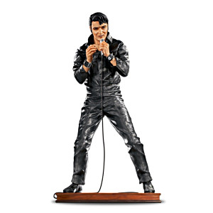 Elvis '68 Comeback Special 30th Anniversary Sculpture