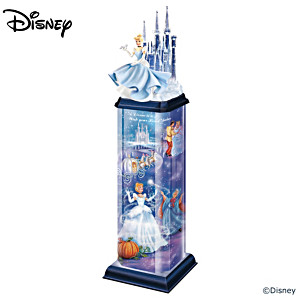 Disney Cinderella Illuminated Tabletop Sculpture