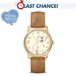 "Precious Moments ""Faith And Love"" Rotating Watch"