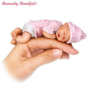 "Brooke Cunningham ""Handful Of Love"" Miniature Baby Doll"