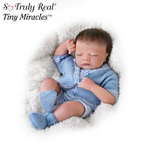 "Tiny Miracles ""Little Charlie"" Sleepy Doll"