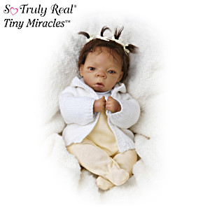 "Tiny Miracles ""Destiny"" African American Collectible Doll"