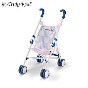 "So Truly Real 10"" Baby Doll Stroller"