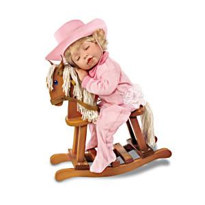 """Ridin' To Dreamland"" Sleepy Cowgirl Doll"