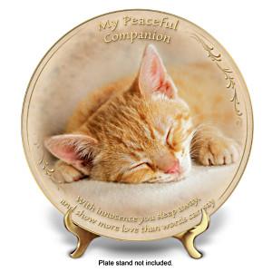 """Sleeping Away"" Fine Porcelain Collector Plate"