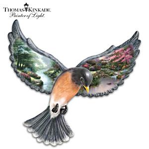 """Thomas Kinkade """"Beauty In Flight"""" Wall Decor"""