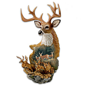 Nature's Royalty Deer Art Wall Decor