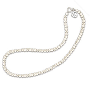 """Grandma's Pearls Of Wisdom"" Cultured Pearl Necklace"
