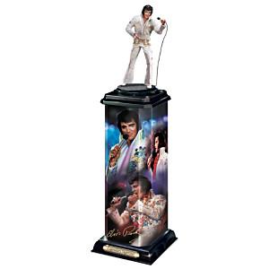 Elvis Presley: Legendary Superstar Illuminated Sculpture
