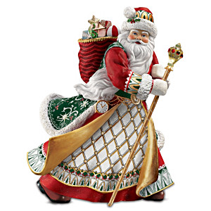 Heirloom Santa Figurine Inspired By Peter Carl Faberge