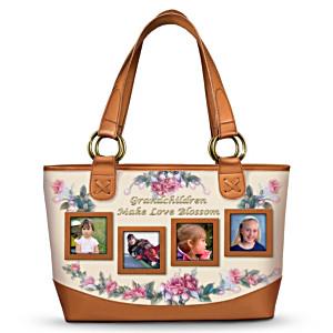 Lena Liu Grandmother's Photo Display Tote Bag
