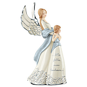 """Ma Fille, Mon Bonheur"" Musical Porcelain Figurine"