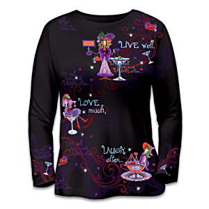 "Dolly Mama's ""Celebrating Attitudes"" Artistic Shirt"