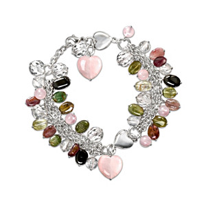 The 40-Gemstone Natural Energy Charm Bracelet