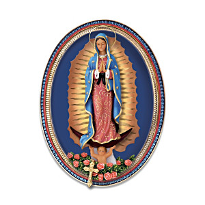 Our Lady Of Guadalupe Sculptural Collector Plate