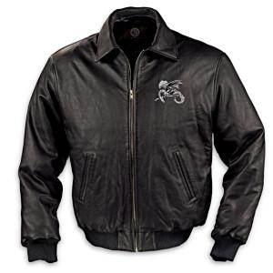 Dragon Art Leather Men's Jacket