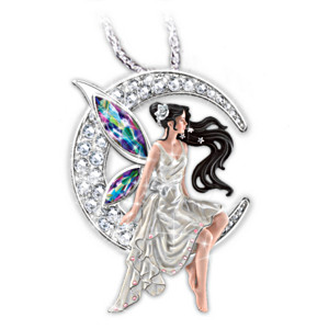 Nene thomas wings of twilight fairy pendant necklace nene thomas sterling silver and crystal fairy pendant aloadofball Gallery