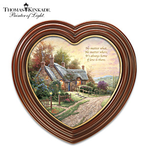 "Thomas Kinkade ""It's Always Home"" Framed Canvas Print"
