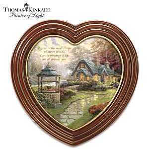 "Thomas Kinkade ""Blessings Of Life"" Framed Canvas Print"