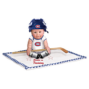 """Rookie In Training"" Montreal Canadiens® Baby Doll"