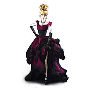 """""""The Contessa"""" Poseable Dracula Bride Doll In Gothic Attire"""