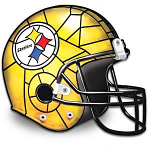 Pittsburgh Steelers Football Helmet Accent Lamp