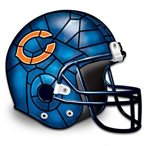 Chicago Bears Football Helmet Accent Lamp