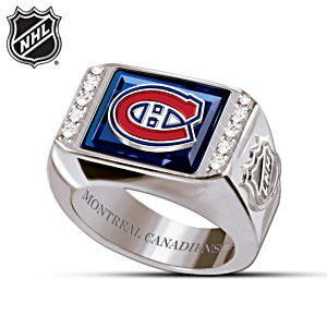 NHL® Montreal Canadiens® Logo Medallion Men's Ring