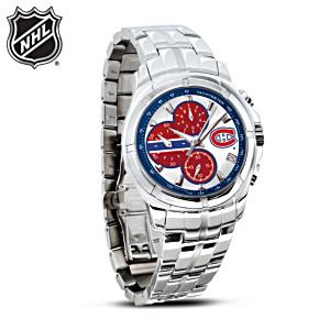 NHL®-Licensed Montreal Canadiens® Chronograph Watch