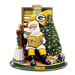 Green Bay Packers Night Before Christmas Talking Santa
