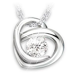 Precious As A Diamond Pendant Necklace For Granddaughter
