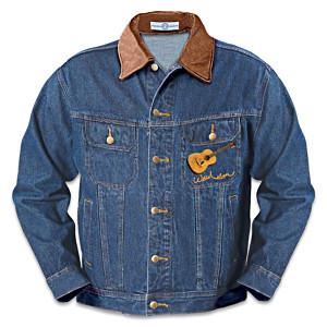 """Willie Nelson """"Country Spirit"""" Unisex Denim Jacket"""