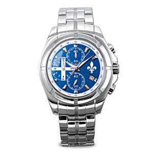 The Spirit of Quebec Engraved Collector's Watch