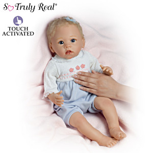 "Linda Murray ""Zoe's Perfectly Lovable"" Touch-Activated Doll"