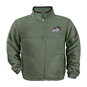 """Angler's Pride"" Men's Fleece Jacket By Al Agnew"