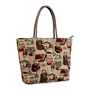 Marchand De Modes Tapestry Tote Bag