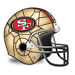 San Francisco 49ers Football Helmet Accent Lamp
