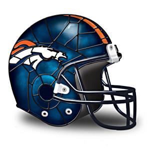 Denver Broncos Football Helmet Accent Lamp