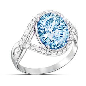 """Shades Of Beauty"" Women's Ring With A Color-Changing Stone"