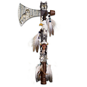 """Spirit Journey"" Tomahawk Wall Decor With Al Agnew Art"
