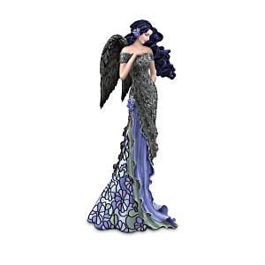 Louis Comfort Tiffany-Style Moonlight Beauty Angel Figurine