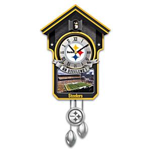 Pittsburgh Steelers Tribute Wall Clock