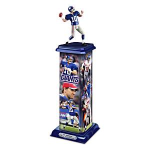 New York Giants Eli Manning Illuminating Sculpture