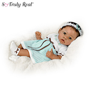"""Alicia"" Touch-Activated Interactive Baby Girl Doll"
