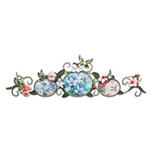 Lena Liu Garden Treasures Porcelain Plaques Wall Décor