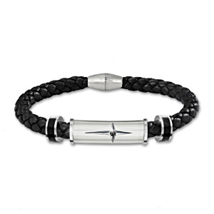 """Protection And Strength For My Son"" Religious Bracelet"