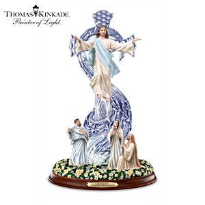 Thomas Kinkade Crystal Ascension Sculpture With Illumination